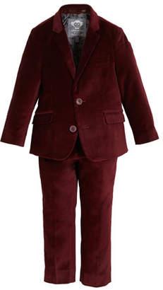 Appaman Boys' Two-Piece Mod Velvet Suit, 2-14