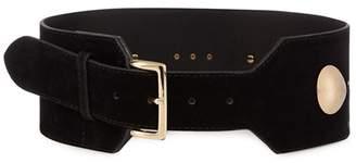 Red Herring Black Studded Waist Belt