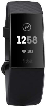 Fitbit Charge 3 Unisex Gray Smart Watch-Fb409gmbk