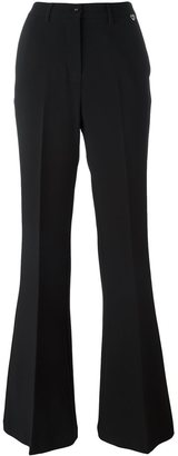 Twin-Set flared trousers $119.19 thestylecure.com