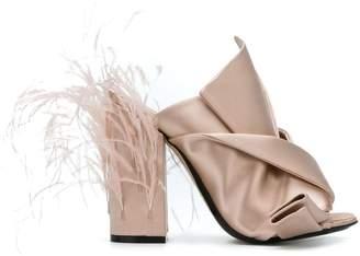 No.21 embellished block heel sandals
