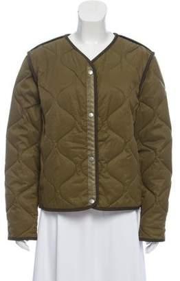 Rag & Bone Collarless Quilted Jacket