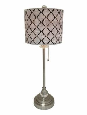 "House of Hampton Meyerson Moroccan Tile 28"" Table Lamp House of Hampton"