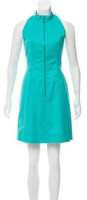 Akris Sleeveless Zip-Up Dress