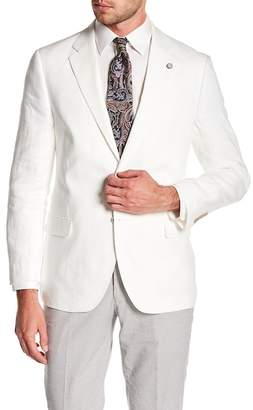 Nautica Linen Notch Collar Blazer