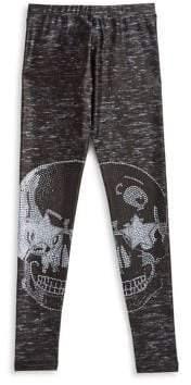 Terez Little Girl's Starry Eyed Leggings