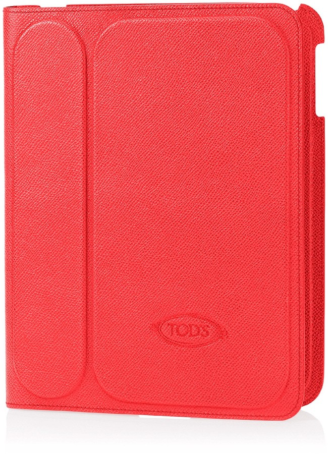 Tod's Fold Over Leather Ipad Case