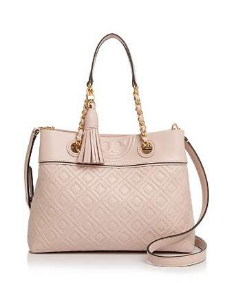 Tory Burch Fleming Small Quilted Leather Crossbody