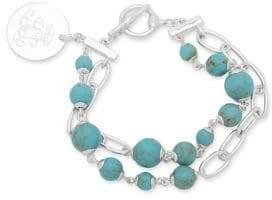 Lauren Ralph Lauren Toggle Bracelet