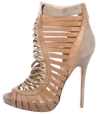Jimmy Choo Leather High-Heel Sandals
