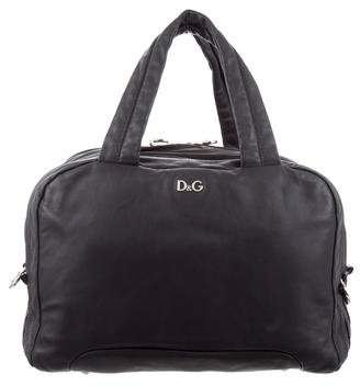 Dolce & Gabbana Soft Leather Lily Bowler Bag
