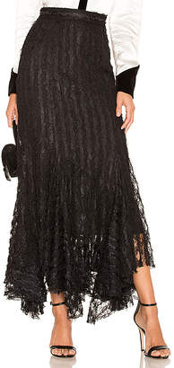 Divine Heritage Lace Midi Skirt