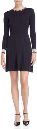 Tommy Hilfiger Cable Knit Fit & Flare Sweater Dress