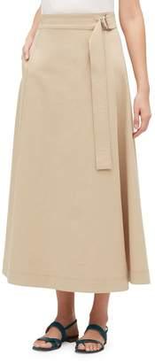 Lafayette 148 New York Nimah Long Wrap Skirt