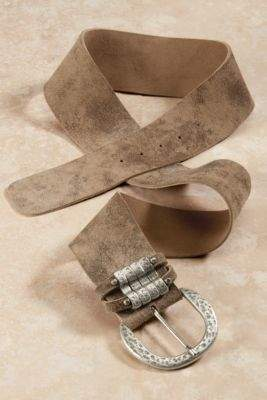 Soft Surroundings Pueblo Contoured Leather Belt