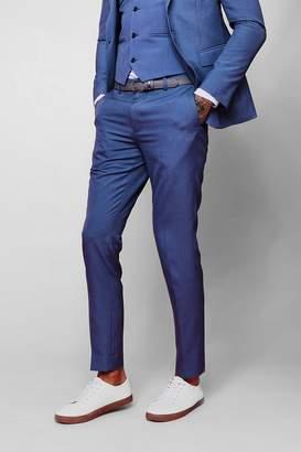 boohoo Skinny Fit Plain Suit Trouser