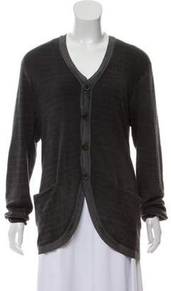 John Varvatos Silk Knit Cardigan Silk Knit Cardigan