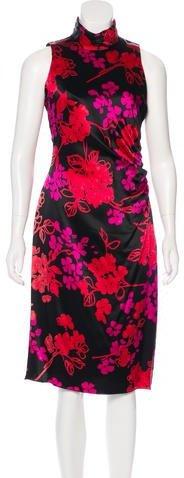 Armani Collezioni Silk Satin Dress w/ Tags