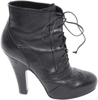 Bottega Veneta Leather lace up boots