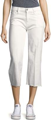 Hudson Women's Flared Five-Pocket Cropped Pants
