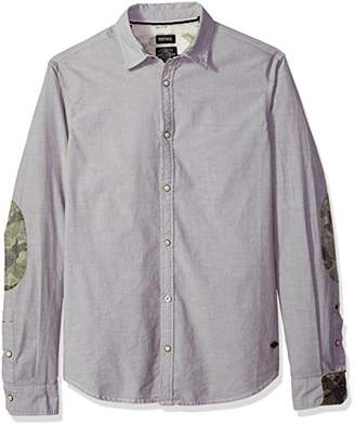 Buffalo David Bitton Men's Sopras Long Sleeve Button Down Shirt