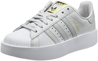 b70c3e68bf8 at Amazon.co.uk · adidas Women s s Superstar Bold Trainers One Grey  Two Footwear White 0