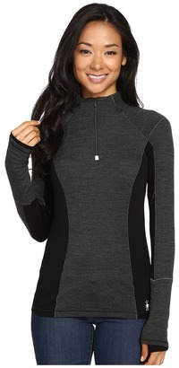 Smartwool - PhD Light Zip T Women's Long Sleeve Pullover $95 thestylecure.com