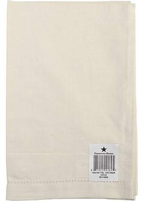 """Blend of America Dunroven House Cotton/Linen Hand Towel 17"""" x 27"""", Cream"""