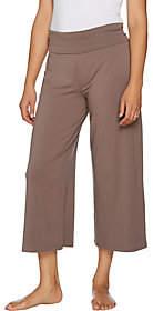 Anybody AnyBody Loungewear Cozy Knit Foldover WaistbandGaucho Pants