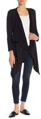 Splendid Crossover Long Sleeve Cardigan