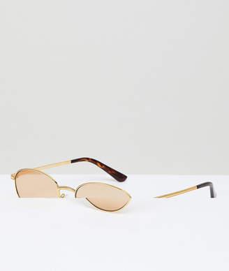 bff57b0e3d Vogue Eyewear round sunglasses by gigi hadid in gold