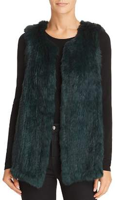 525 America Rabbit Fur Long Vest - 100% Exclusive