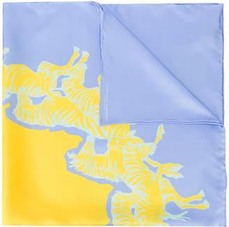 Carolina Herrera zebra print scarf