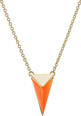 Alexis Bittar Gold-Plated Necklace with Lucite