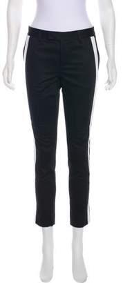 Wayne Mid-Rise Straight-Leg Pants