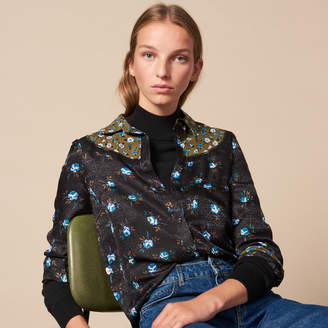 Sandro All-over print shirt