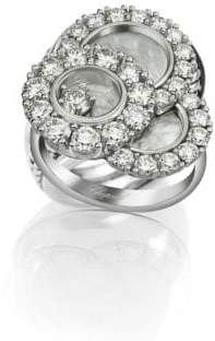 Chopard Happy Dreams Diamond, Mother-Of-Pearl& 18K White Gold Ring