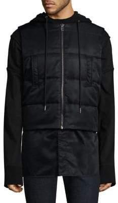 Helmut Lang Puffer Hooded Vest
