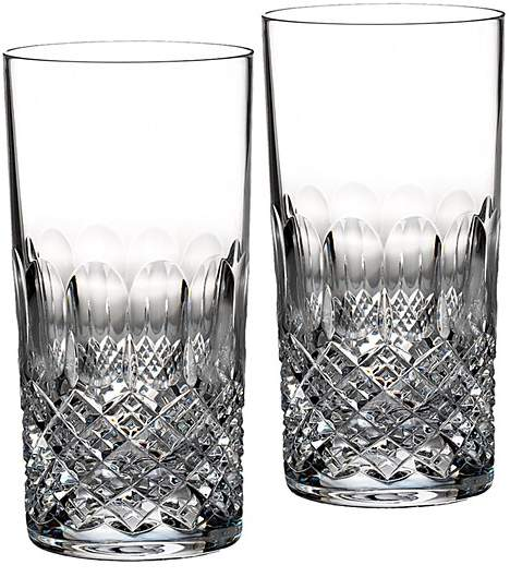 Monique Lhuillier Waterford Ellypse Highball Glass, Set of 2