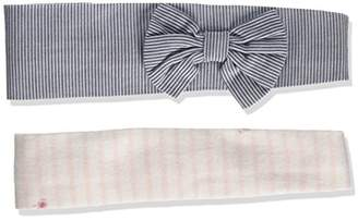 Mamas and Papas Baby Girls' Floral/Stripe H/Band Set Hat,Pack of 2