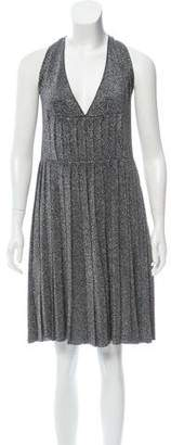Prada Metallic A-Line Dress w/ Tags