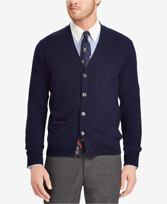 Polo Ralph Lauren Men's Merino Wool Cardigan