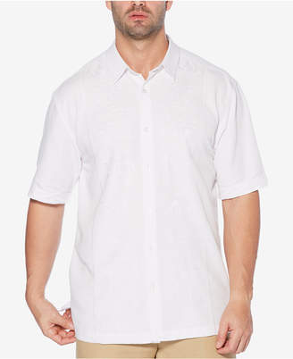 Cubavera Men's Big & Tall Embroidered Short-Sleeve Shirt