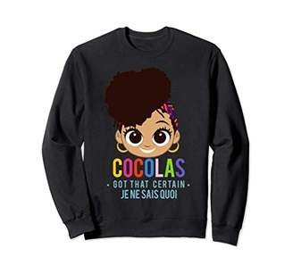 Afro Dominican Doll Girl Sweater Sweatshirt