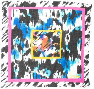 Diane von Furstenberg Splatter Print Scarf $65 thestylecure.com
