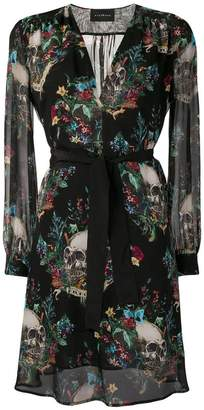 John Richmond skull print dress
