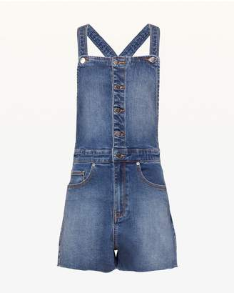 Juicy Couture JXJC Juicy Banana Patch Short Overall