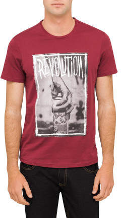 R & E RE: Revolution Print T-Shirt