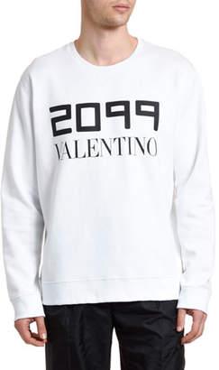 Valentino Men's 2099 Logo Sweatshirt