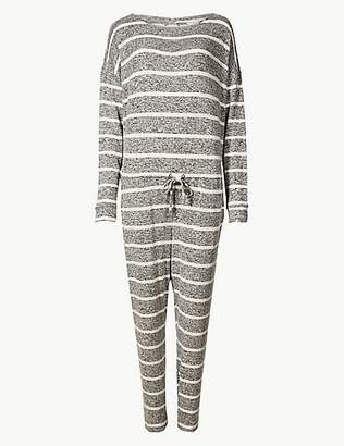 at marks and spencer a m s collection striped long sleeve onesie